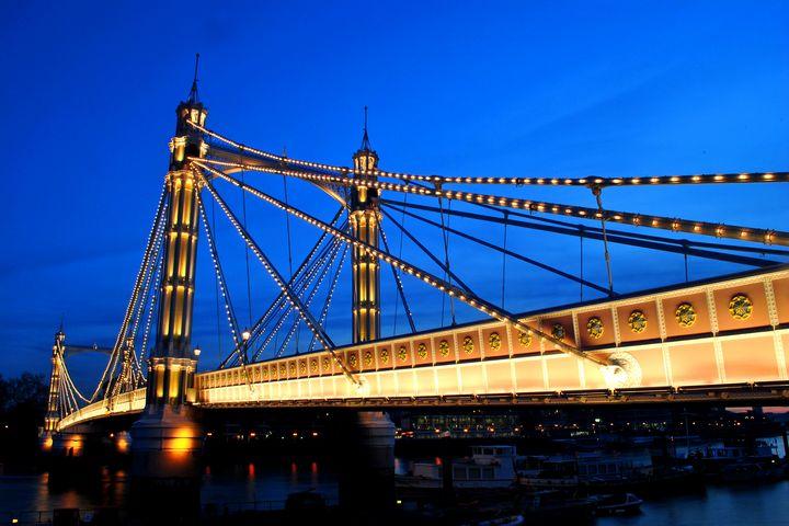 Albert Bridge River Thames London - Andy Evans Photos