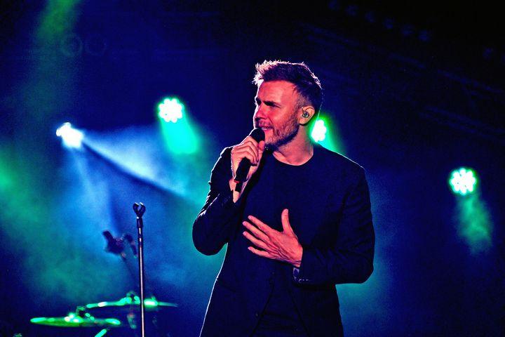 Gary Barlow Take That - Andy Evans Photos