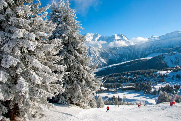 Courchevel 1850 Alps France - Andy Evans Photos