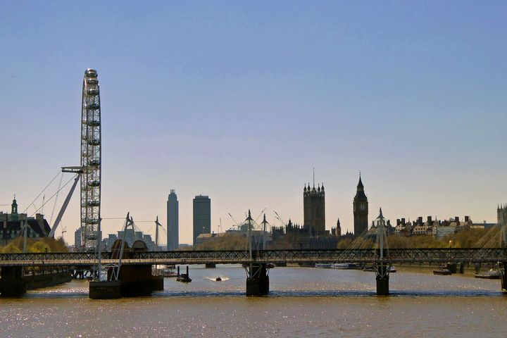 London Eye Houses of Parliament - Andy Evans Photos