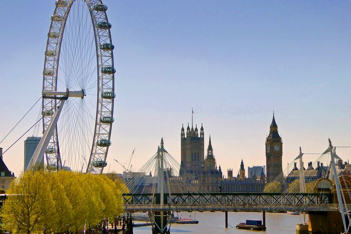 London Eye Houses of Parliament Engl - Andy Evans Photos