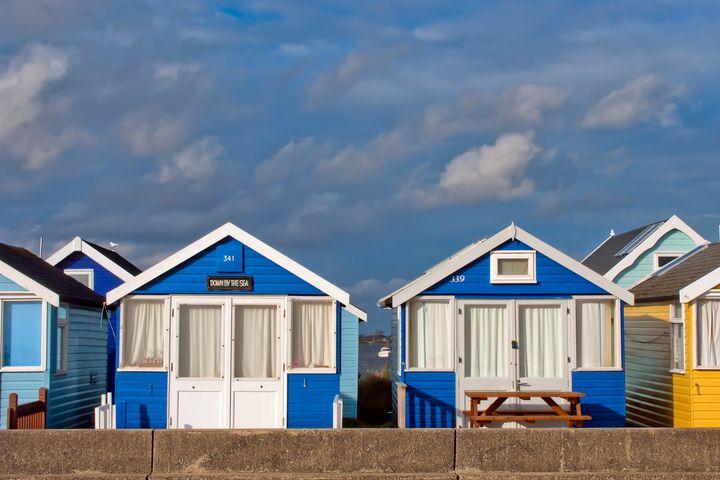 Beach Huts Hengistbury Head Dorset - Andy Evans Photos