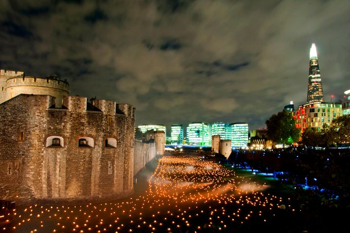 Tower of London Beyond The Deepening - Andy Evans Photos