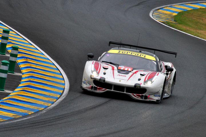 Ferrari 488 GTE Le Mans 2019 - Andy Evans Photos