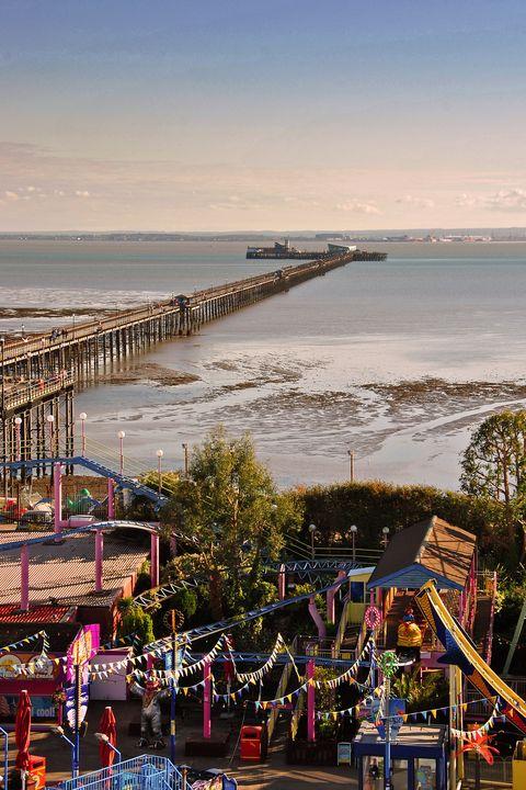 Southend on Sea Pier Essex England - Andy Evans Photos