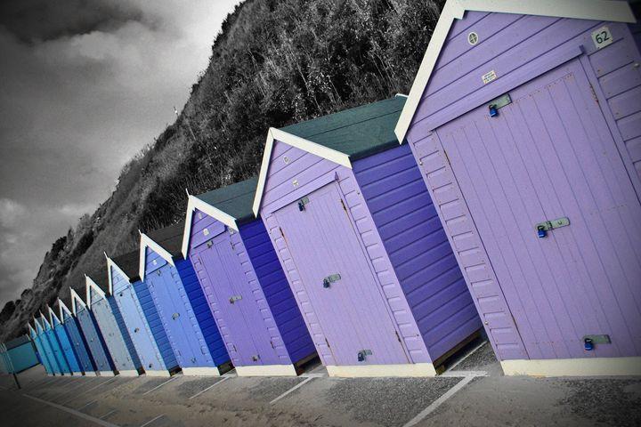 Bournemouth Beach Huts Dorset - Andy Evans Photos