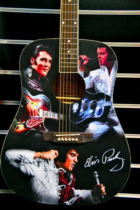 Elvis Presley Guitar - Andy Evans Photos