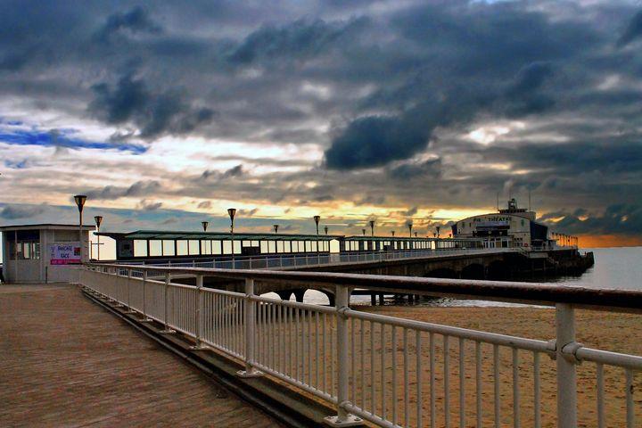 Bournemouth Pier And Beach Dorset - Andy Evans Photos