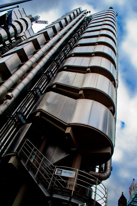 Lloyds Of London Building England - Andy Evans Photos