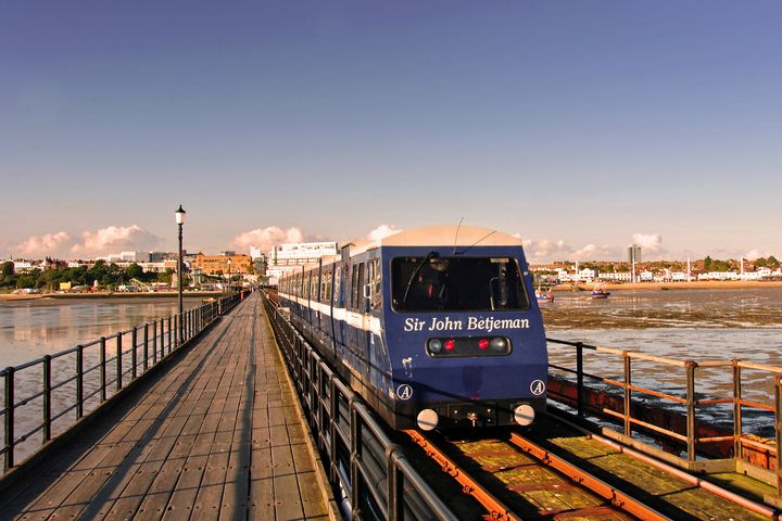 Southend on Sea Pier and Train Essex - Andy Evans Photos