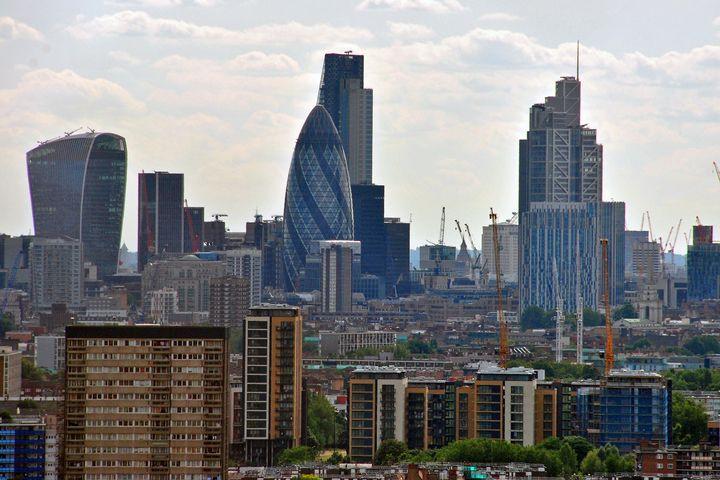 London Skyline Cityscape England - Andy Evans Photos