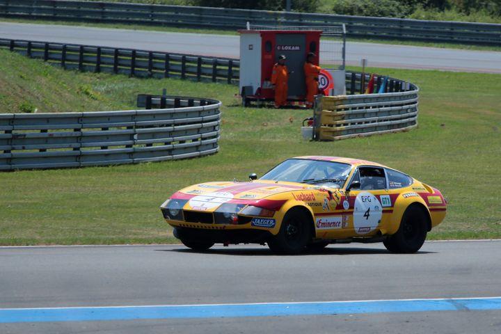 Ferrari 365 GTB/4 Le Mans Classic - Andy Evans Photos