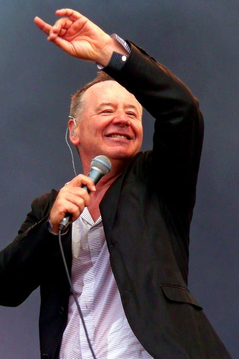 Simple Minds Jim Kerr In Concert - Andy Evans Photos