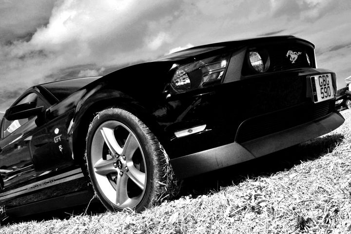 Ford Mustang GT Classic Car - Andy Evans Photos