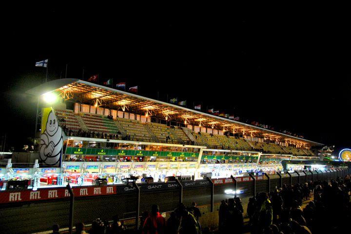 Motor Racing at Night Le Mans - Andy Evans Photos