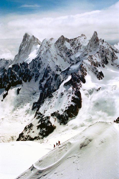 Chamonix Aiguille du Midi Mont Blanc - Andy Evans Photos