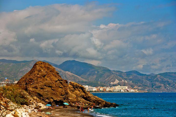 Penoncillo Beach Torrox Costa Nerja - Andy Evans Photos