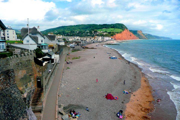 Sidmouth Beach Jurassic Coast Devon - Andy Evans Photos