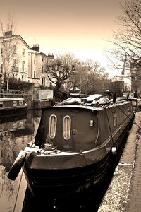 Narrow Boats Regent's Canal Camden