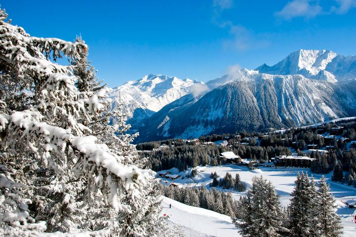 Courchevel 1850 3 Valleys France - Andy Evans Photos