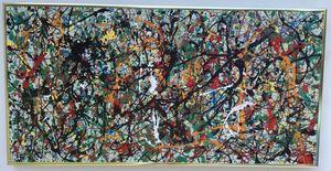 1951 Jackson Pollock Abstract