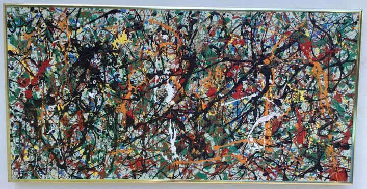 1951 Jackson Pollock Abstract - Raquel Medina Artwork