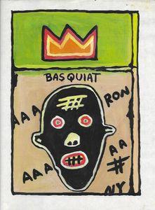 Jean Michel Basquiat-Drawing