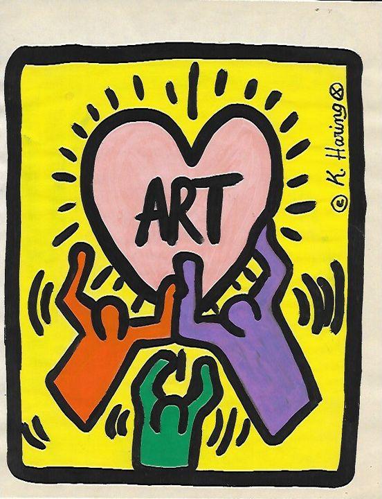 Keith Haring - Raquel Medina Artwork