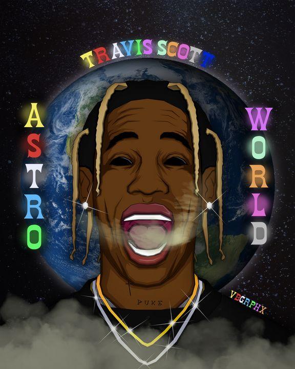 Travis Scott AstroWorld - VB Graphics