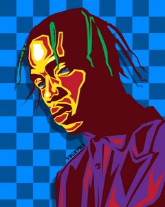 Travis Scott Multi-Colored