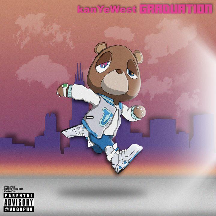 Graduation - Kanye West - VB Graphics