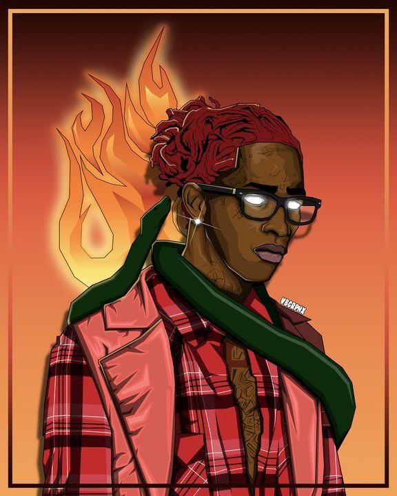 Young Thug - VB Graphics