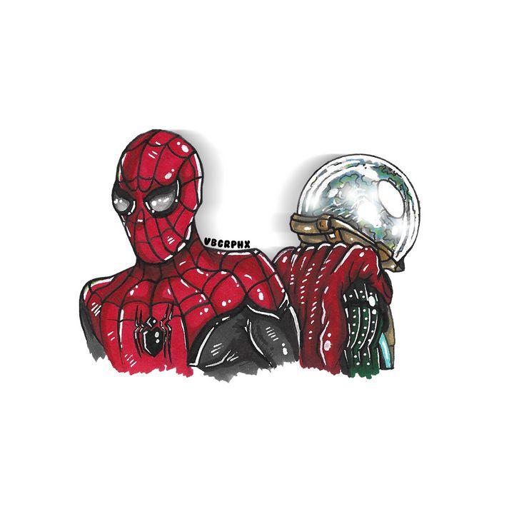 Spiderman x Mysterio - VB Graphics