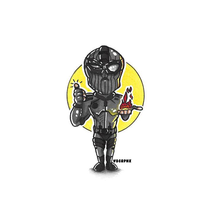 Spiderman (Stealth Suit) - VB Graphics