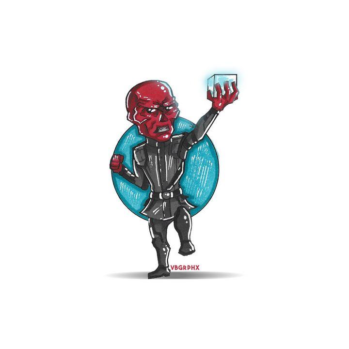 Red Skull / Tesseract - VB Graphics