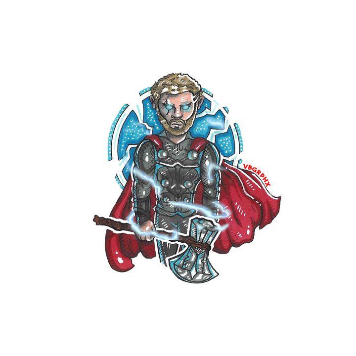Thor & Stormbreaker - VB Graphics