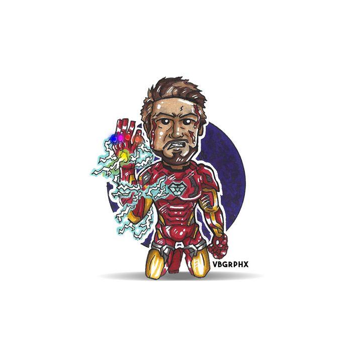 """I Am Iron Man"" - VB Graphics"