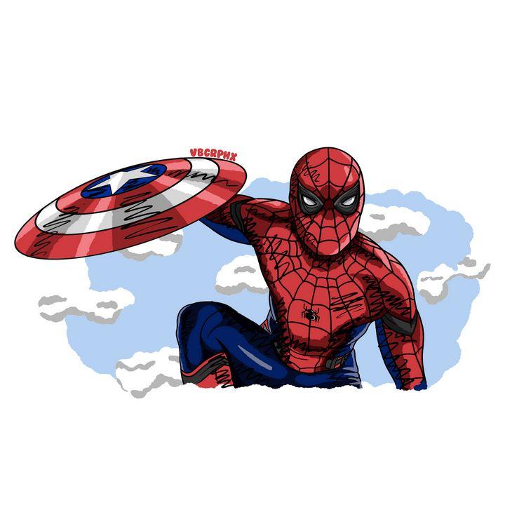 "Spider-Man in ""Civil War"" - VB Graphics"