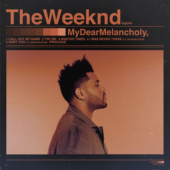 My Dear Melancholy, - VB Graphics