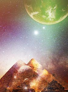 Pyramids of light