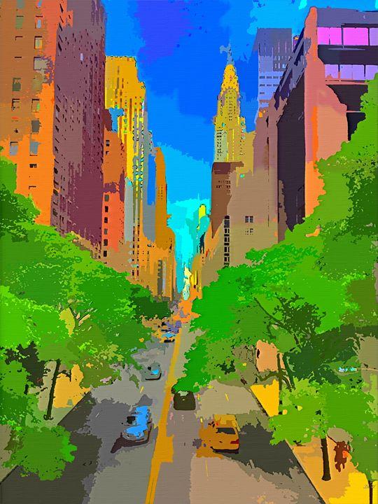 New York City Street - Dori Marie