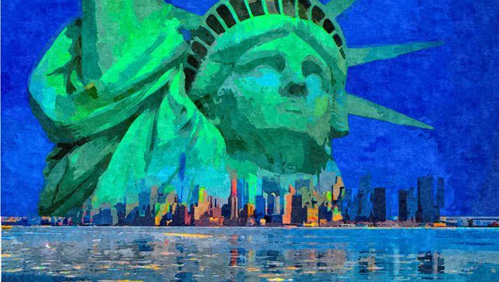 New York City Statue of Liberty - Dori Marie