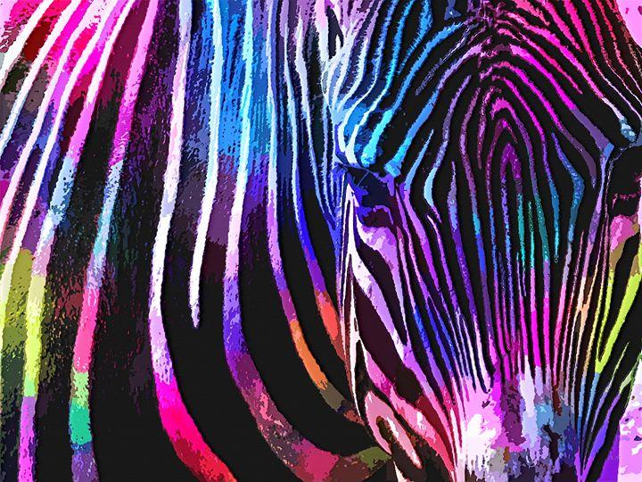 Watercolor Zebra - Dori Marie