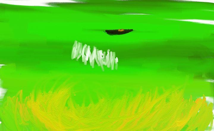 Flaming Green Dragon - Stylo