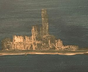 Chalkbrick castle Scotland