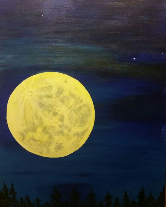 Full moon - Artfever