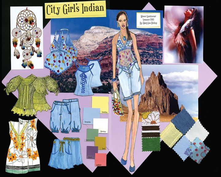 City Girl Indian - MaryAnn K.Bishop