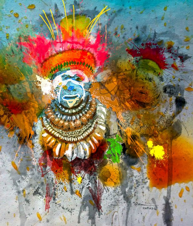 traditional beauty - CLINTART