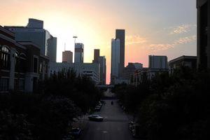 Sunset on Capital Street