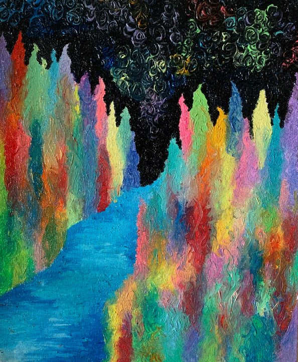 Psychedelic forest - Rachael's Gallery